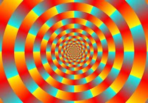 Visual illusion - Akiyoshi Kitaoka